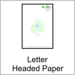 letter headed papers